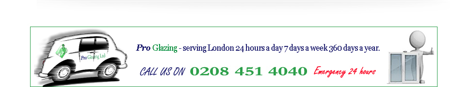 glazing, board ups, emergency glazing 24 hrs a day in willesden brent